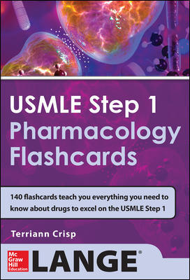USMLE Pharmacology Review Flash Cards