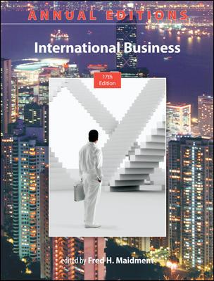 Annual Editions: International Business, 17/e