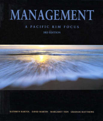 Management: a Pacific Rim Focus: A Pacific Rim Focus