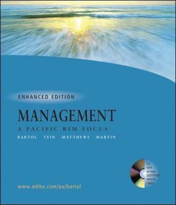 Management: A Pacific Rim Focus