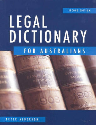 Legal Dictionary for Australians