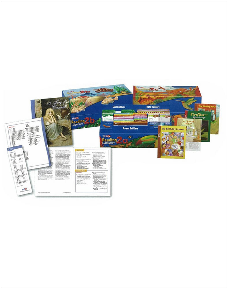 Reading Lab 2a, Complete Kit, Levels 2.0 - 7.0