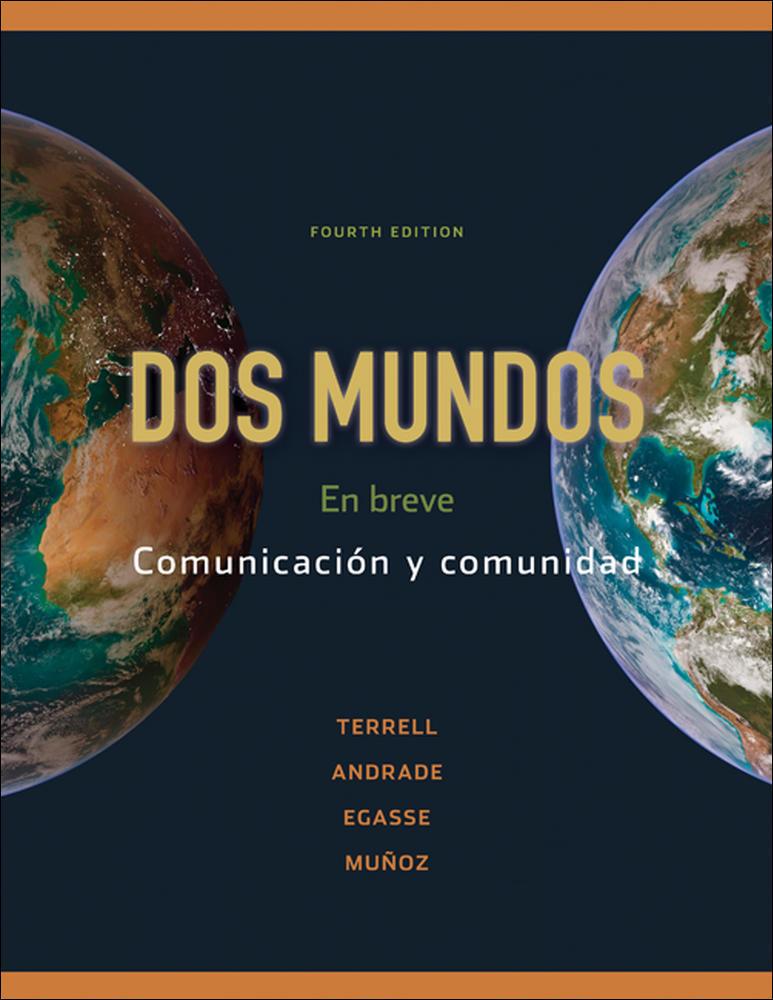 Workbook/Laboratory Manual Dos Mundos: En breve