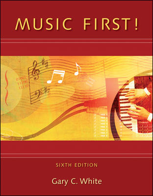 Music First! with Keyboard Foldout