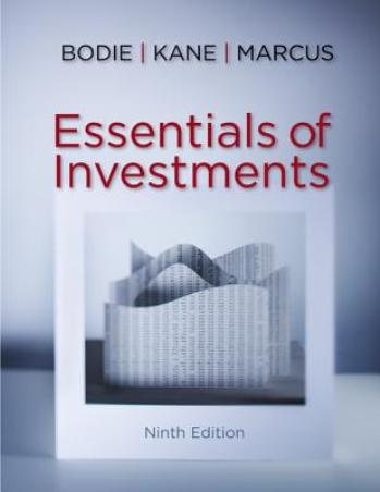Essentials of Investments & Solutions Manual