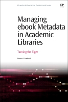 Managing ebook Metadata in Academic Libraries