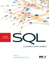 SQL Clearly Explained, Third Edition