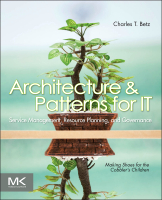 Architecture and Patterns for IT Service Management, Resource Planning, and Governance, Second Edition
