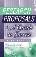 Research Proposals Third Edition