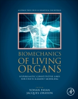 Biomechanics of Living Organs: Hyperelastic Constitutive Laws for Finite Element Modeling