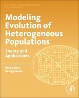 Modeling Evolution of Heterogenous Populations: Theory and Applications