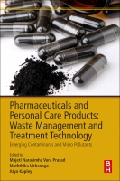 Pharmaceuticals and Personal Care Products Waste Management and Treatment Technology: Emerging Contaminants and Micro Po
