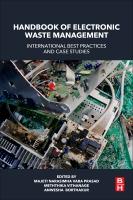 Handbook of Electronic Waste Management Best Practices: International Best Practice and Case Studies