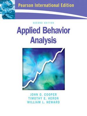 Applied Behavior Analysis: International Edition