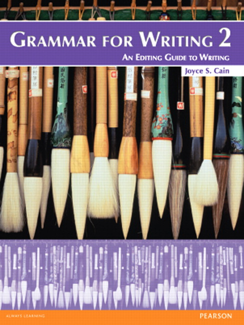 Grammar for Writing 2 (Student Book alone)