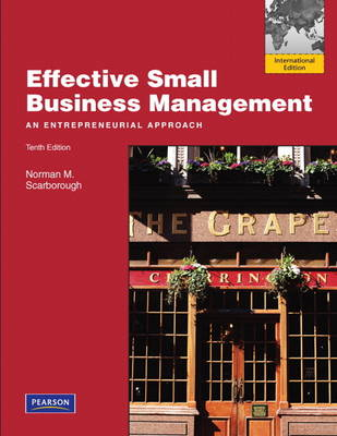 Effective Small Business Management: International Edition