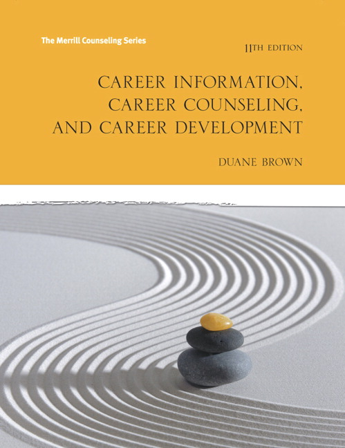 Career Information, Career Counseling and Career Development