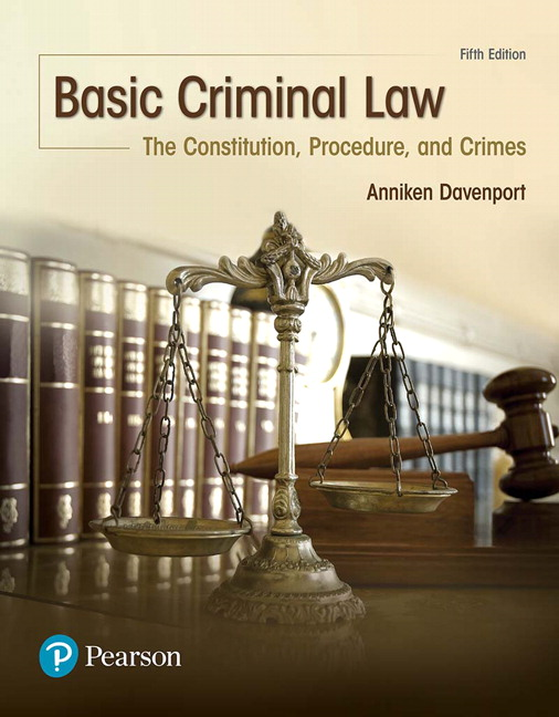 Basic Criminal Law: The Constitution, Procedure and Crimes