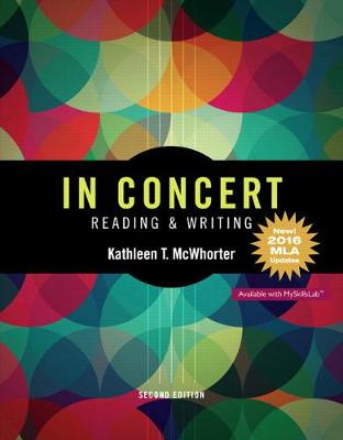 In Concert: An Integrated Approach to Reading and Writing, MLA Update