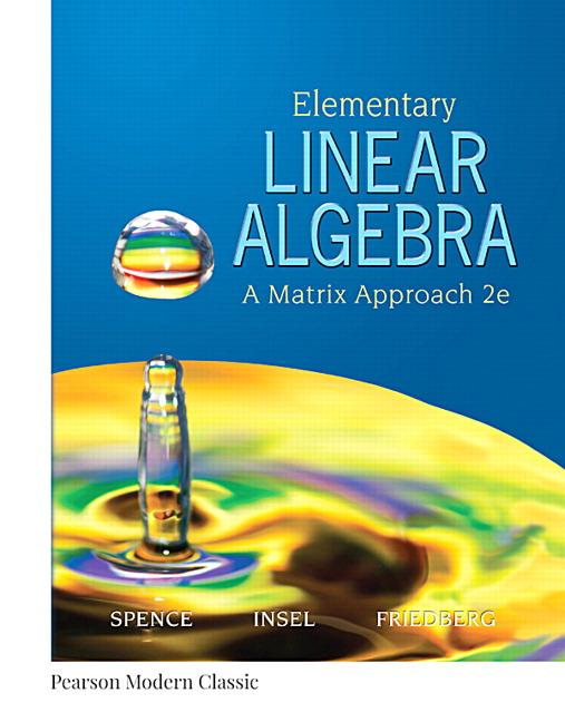 Elementary Linear Algebra (Classic Version)