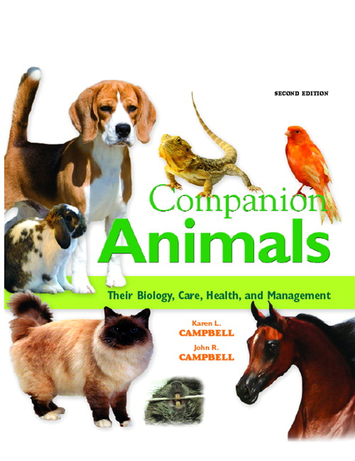 Companion Animals: Their Biology, Care, Health and Management