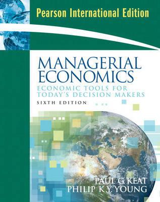 Managerial Economics: International Edition