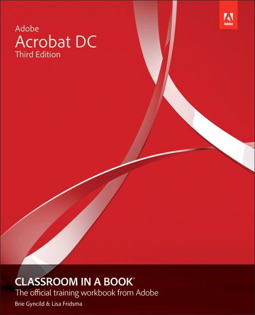 Adobe Acrobat DC Classroom in a Book