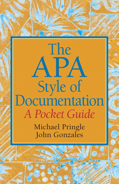 The APA Style of Documentation: A Pocket Guide