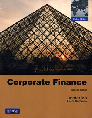 Corporate Finance & MyLab Finance Student Access Code Card: Global Edition