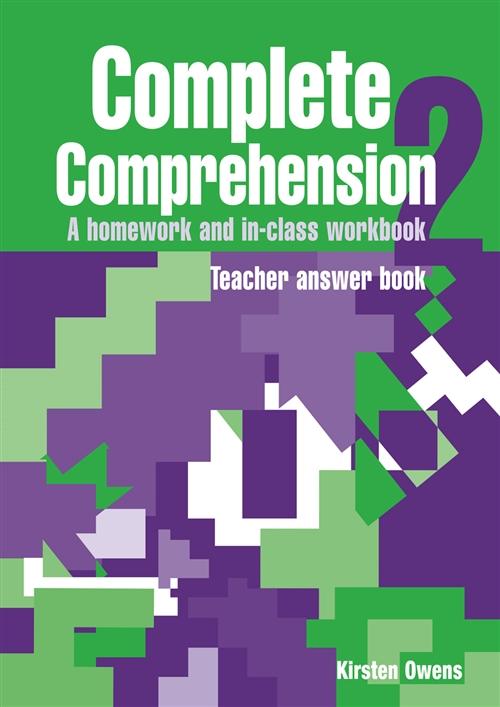 Complete Comprehension 2 Teacher Answer Book : Teacher Answer Book
