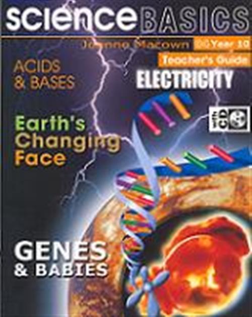 Science Basics: Book 4, Year 10 Teacher Book and CD : Year 10