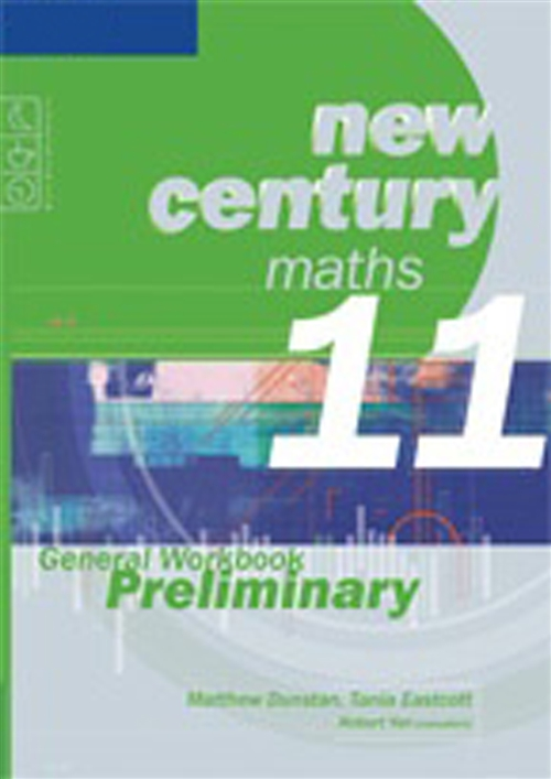 New Century Maths 11 General Workbook Preliminary