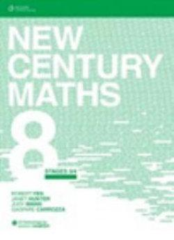 New Century Maths 8 Stages 3/4: Student Book with CD