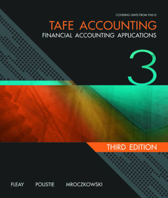 TAFE Accounting: Financial Accounting Applications + Workbook Student Pack