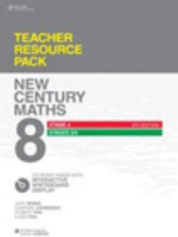 New Century Maths 8 Stage 4 and Stages 3/4: Teacher Resource Pack