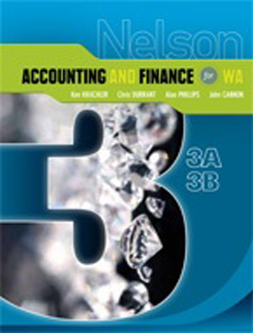 Nelson Accounting and Finance for WA 3A-3B