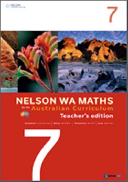 Nelson WA Maths for the Australian Curriculum Year 7 Teacher's Edition
