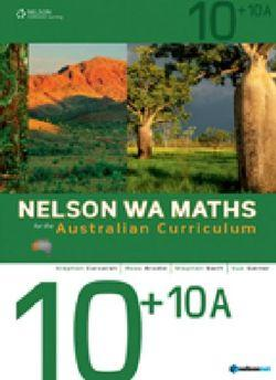 Nelson WA Maths for the AC 10+10A Student Book plus Access Card for 4 Years