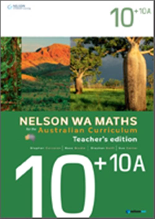 Nelson WA Maths for the Australian Curriculum Advanced 10+10A Teacher's Edition