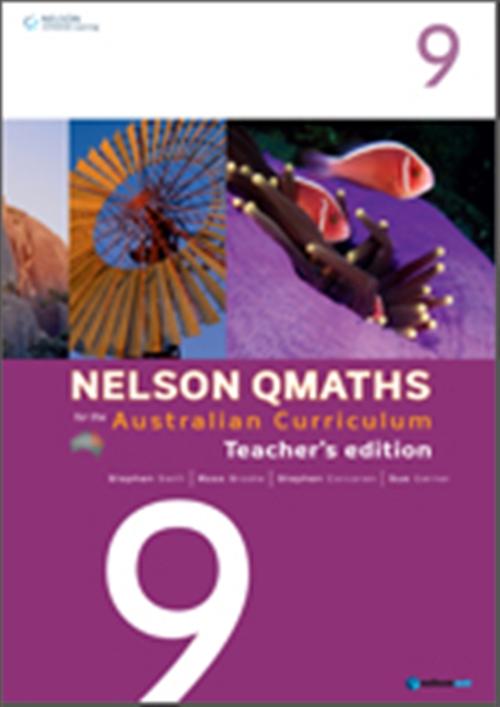 Nelson QMaths for the Australian Curriculum Year 9 Teacher's Edition