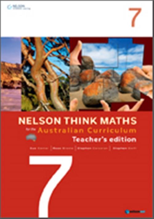 Nelson Think Maths for the Australian Curriculum Year 7 Teacher's Edition