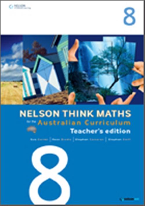 Nelson Think Maths for the Australian Curriculum Year 8 Teacher's Edition