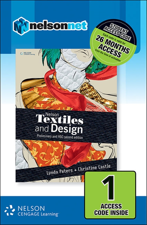 Nelson Textiles and Design Preliminary and HSC (1 Access Code Card)