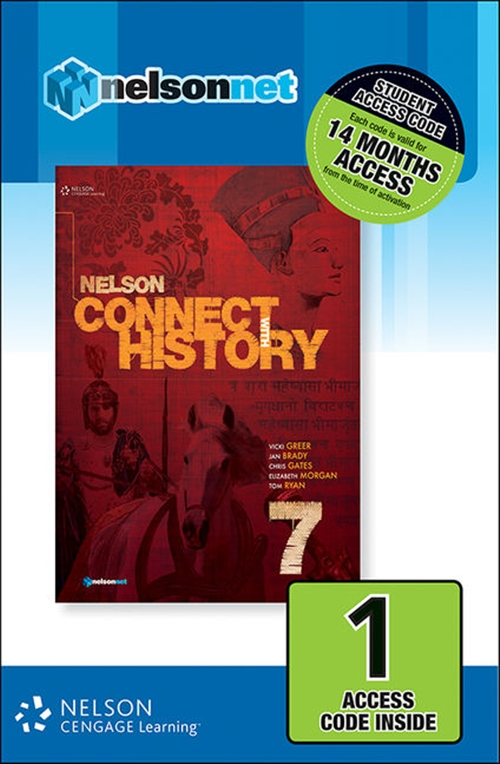 Nelson Connect with History Year 7 for the Australian Curriculum (1 Access Code Card)