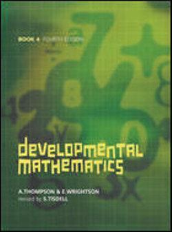 Developmental Mathematics Book 4 - Year 10 with CD