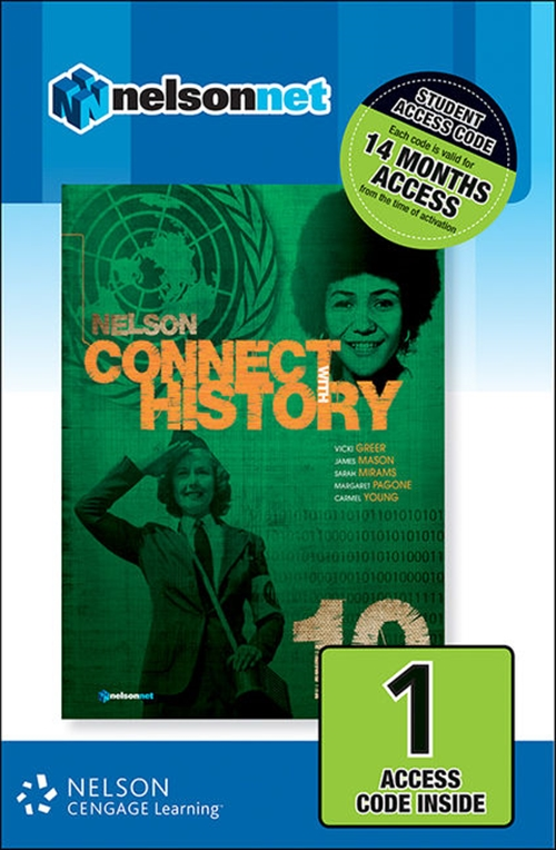 Nelson Connect with History Year 10 for the Australian Curriculum (1 Access Code Card)