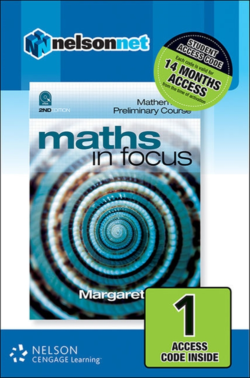 Maths in Focus: Mathematics Preliminary Course (1 Access Code Card)