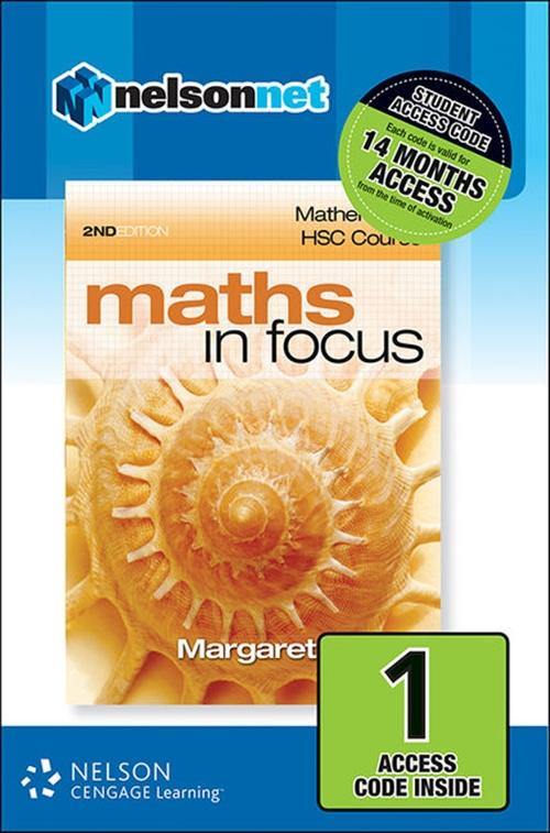 Maths in Focus: Mathematics HSC Course (1 Access Code Card)