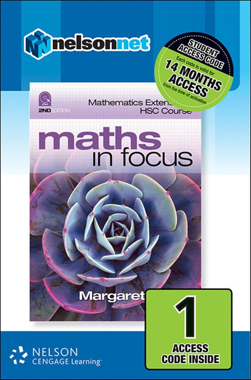 Maths in Focus: Mathematics Extension 1 HSC Course (1 Access Code Card)