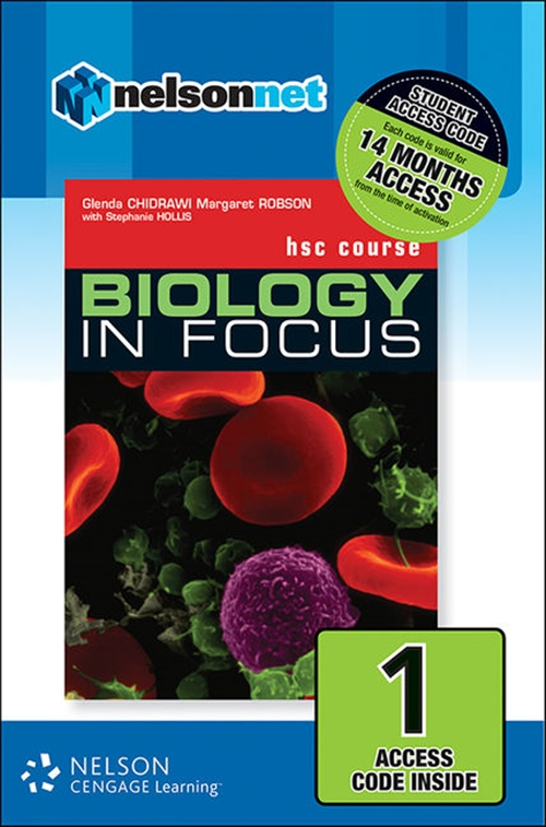 Biology in Focus HSC Course (1 Access Code Card)